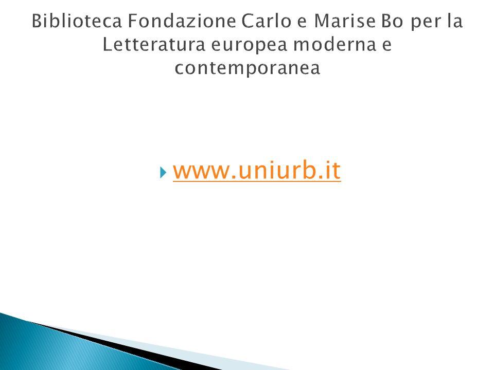 www.uniurb.it