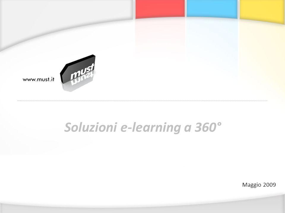 Soluzioni e-learning a 360° Maggio 2009