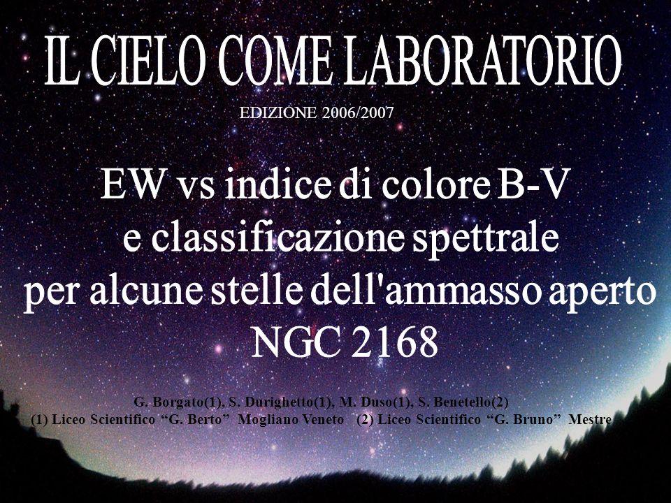 EDIZIONE 2006/2007 G. Borgato(1), S. Durighetto(1), M.
