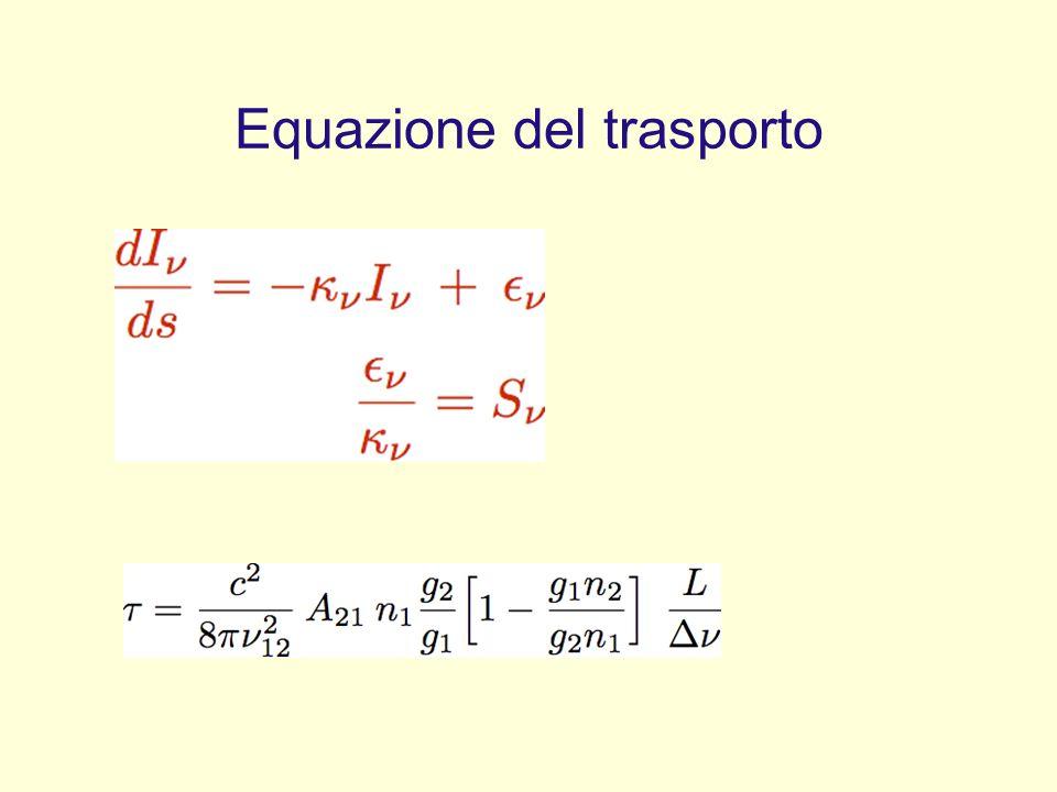 Equazione del trasporto