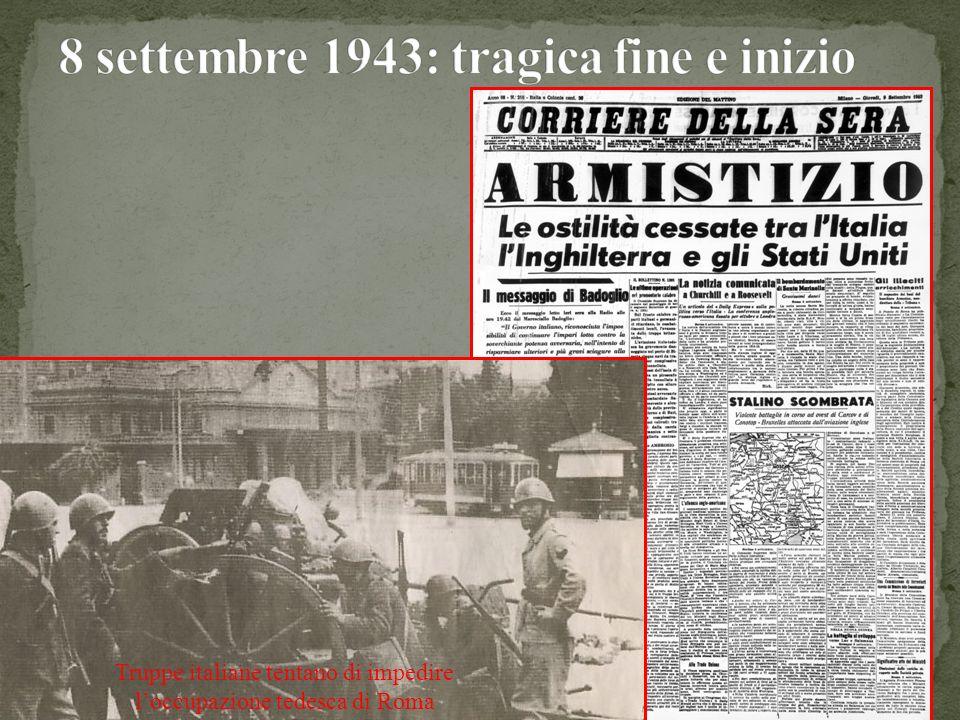9 settembre: fondato dai partiti antifascisti il Comitato di Liberazione Nazionale.