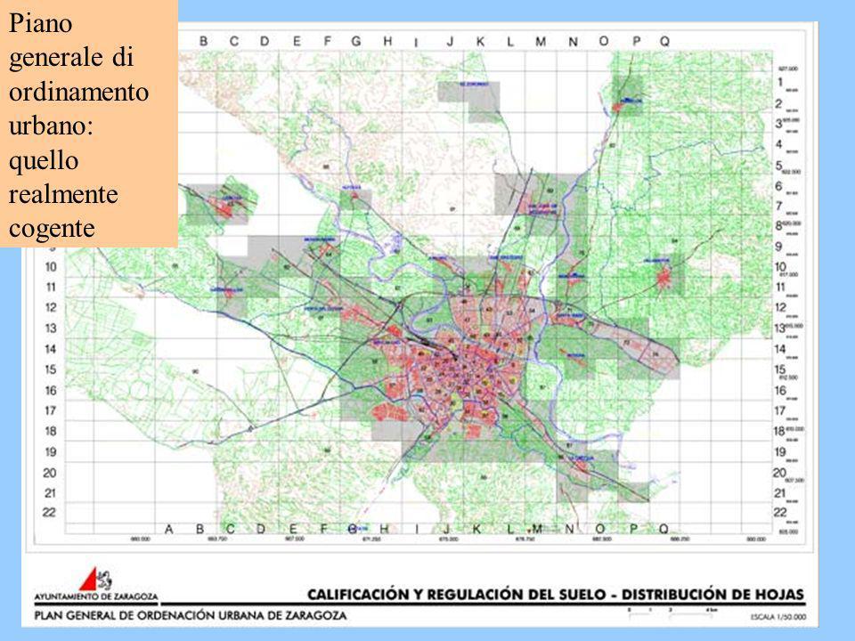 Piano generale di ordinamento urbano stablisce: -suolo urbano: urbanizzato consolidato; - suolo rurale non urbanizzabile; - suolo urbanizzabile: in cui è possibile lo sviluppo futuro In termini teorici è il piano che assegna al suolo la sua urbanizzabilità.
