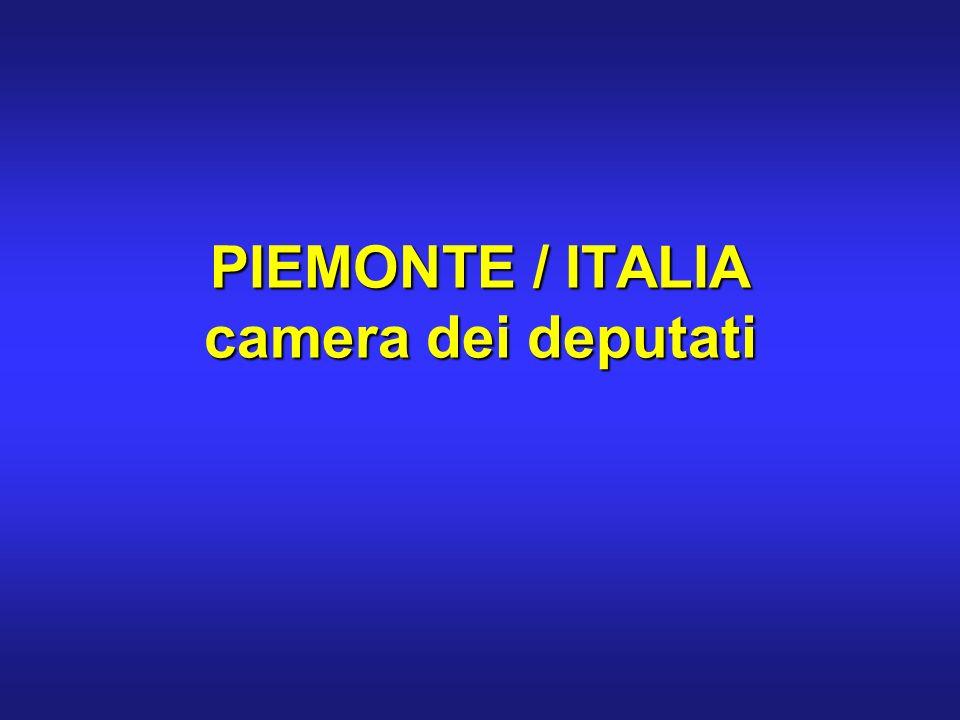 PIEMONTE / ITALIA camera dei deputati