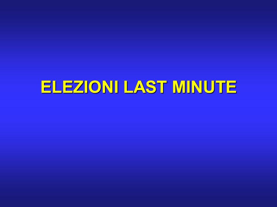 ELEZIONI LAST MINUTE