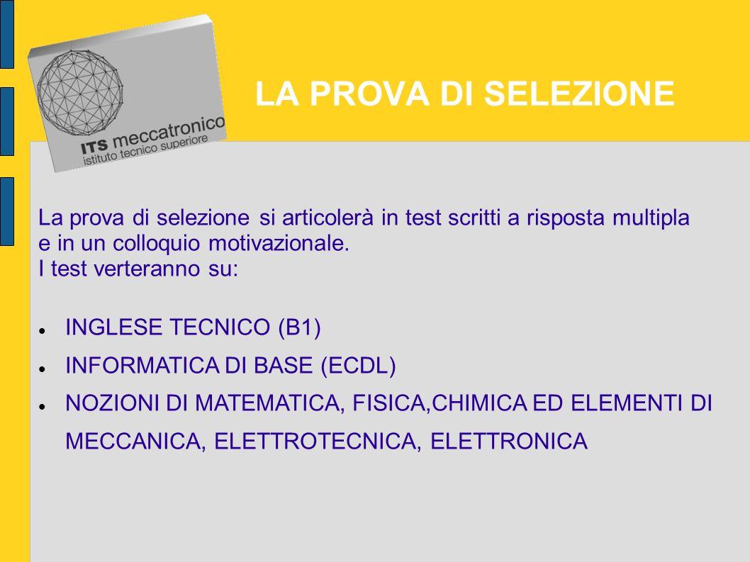 ISCRIZIONE E PROVA DI SELEZIONE DEI CANDIDATI Il Bando per l'iscrizione 2012 sarà disponibile presso il sito della Fondazione a partire da aprile 2012
