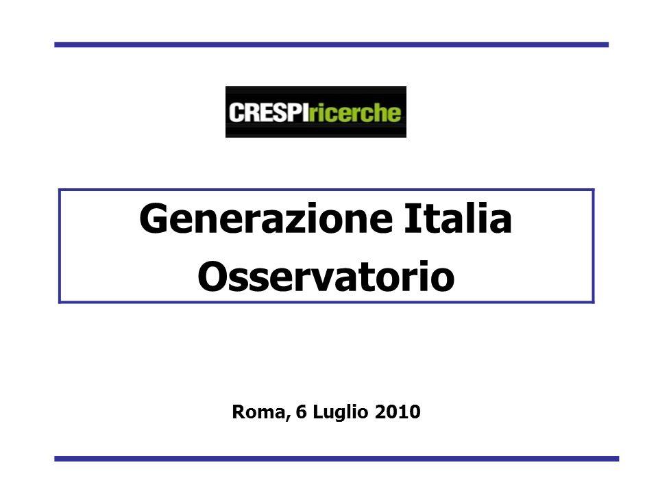 Generazione Italia Osservatorio Roma, 6 Luglio 2010