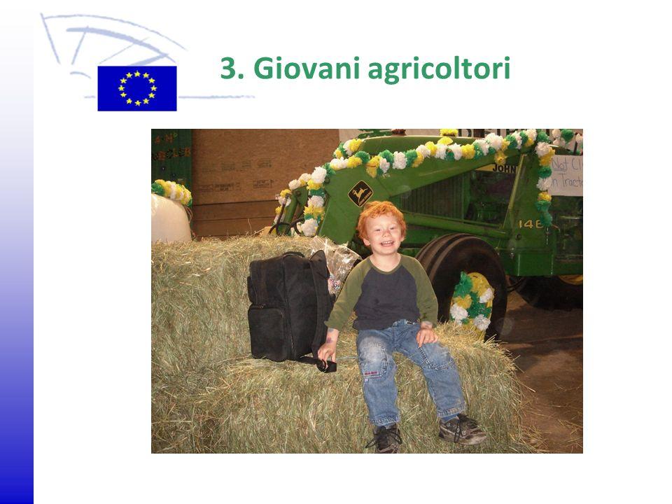 3. Giovani agricoltori