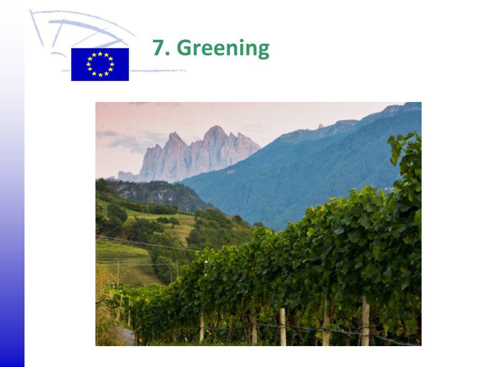 © 2009 Europäisches Parlament, Besucherdienst 7. Greening