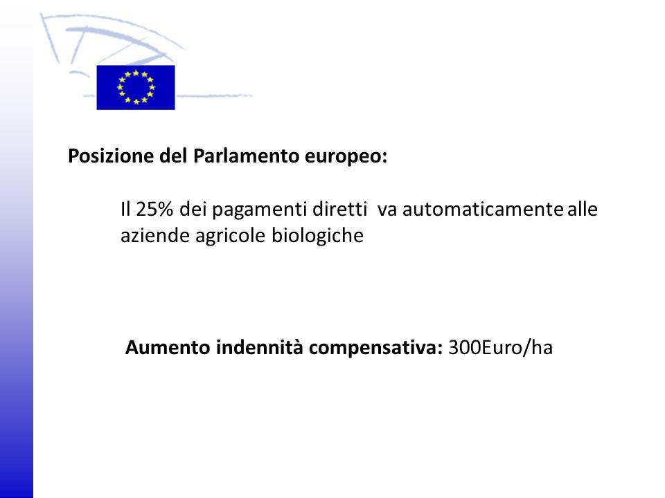 © 2009 Europäisches Parlament, Besucherdienst Posizione del Parlamento europeo: Il 25% dei pagamenti diretti va automaticamente alle aziende agricole