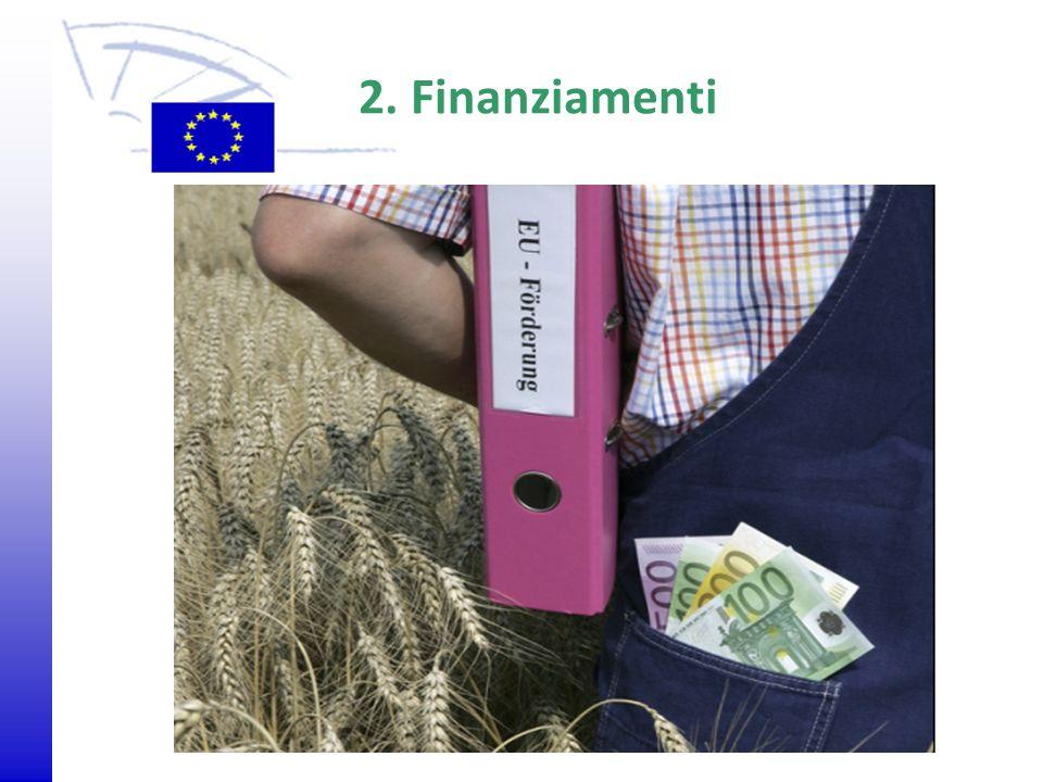 © 2009 Europäisches Parlament, Besucherdienst 2. Finanziamenti