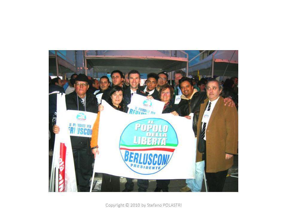 28/29 marzo 2010 Elezioni Regionali in Piemonte ORGANIZZAZIONE DEI RAPPRESENTANTI DI LISTA A: Piossasco Pinerolo Torre Pellice Copyright © 2010 by Stefano POLASTRI