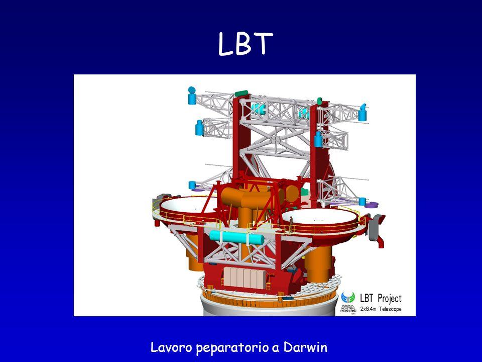 LBT Lavoro peparatorio a Darwin