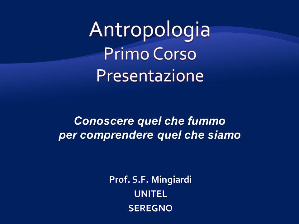 Conoscere quel che fummo per comprendere quel che siamo Prof. S.F. Mingiardi UNITELSEREGNO