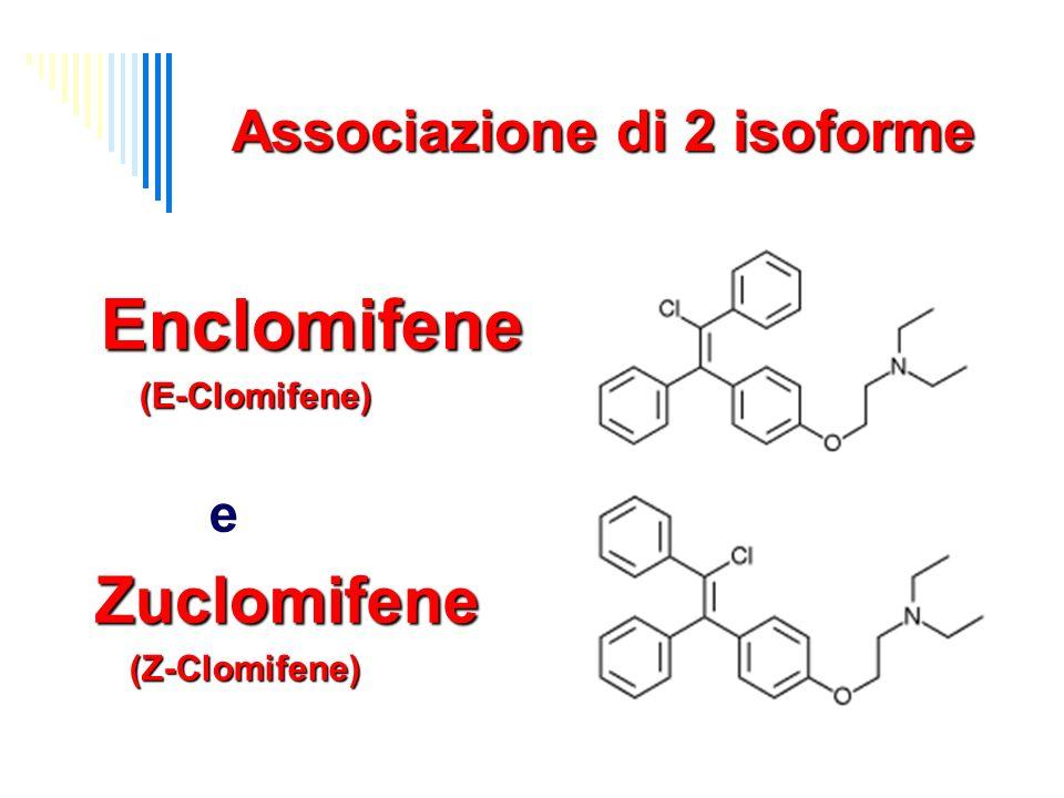 CC Farmacocinetica o Biodisponibilità: >90% o metabolismo: epatico (con circolazione entero-epatica) o emivita: 5-7 gg o escrezione: o 90% renale o 10% biliare fecale in forma di ossido- CC, 4-OH-CC, e defetyl-CC) Mikkelson TJ, Kroboth PD, Cameron WJ, Dittert LW, Chungi V, Manberg PJ: single-dose pharmacokinetics of clomiphene citrate in normal volunteers.