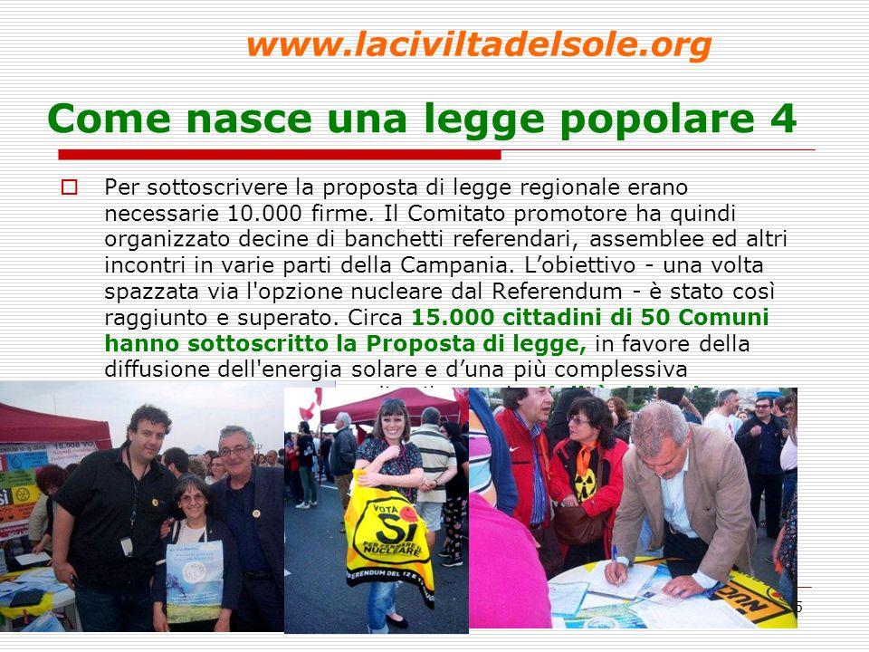 6 Come nasce una legge popolare 5 - www.laciviltadelsole.org