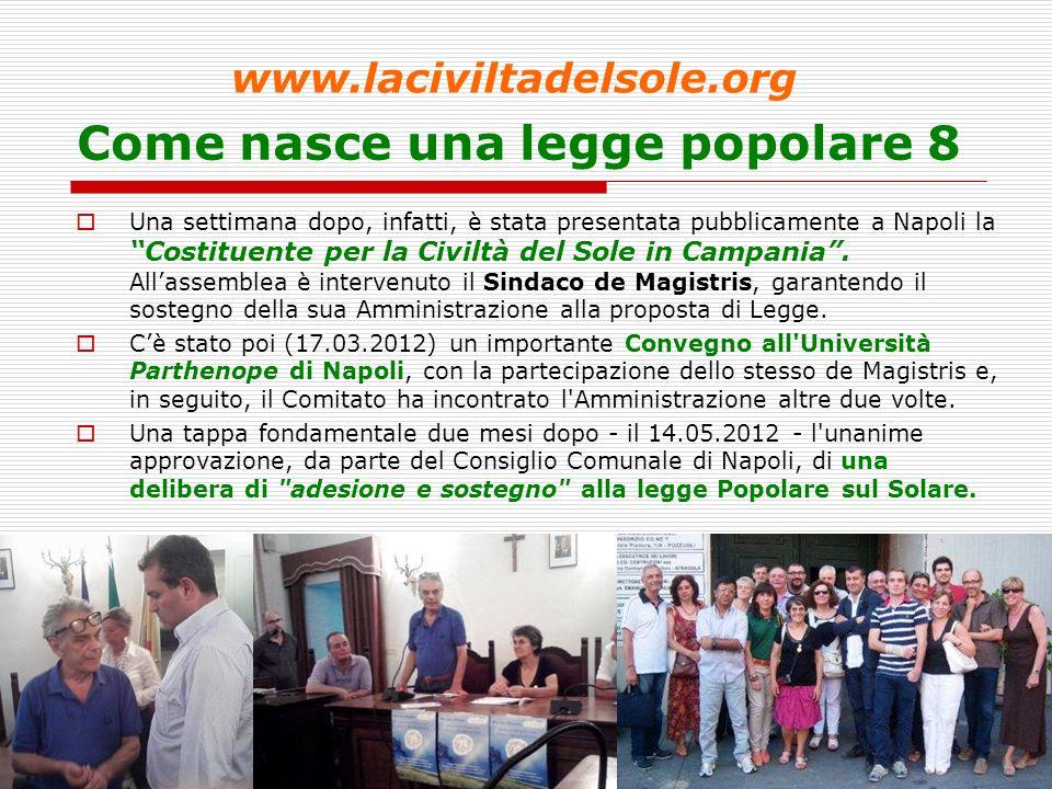 10 Come nasce una legge popolare 9 - www.laciviltadelsole.org