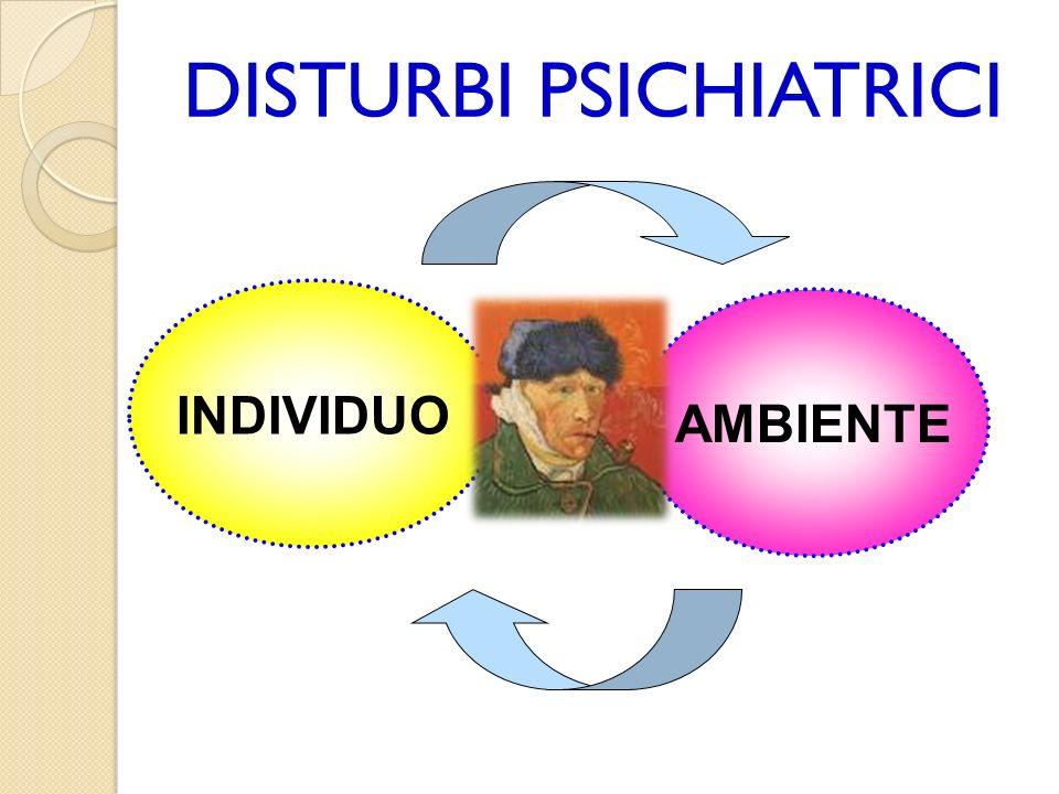 DISTURBI PSICHIATRICI INDIVIDUO AMBIENTE