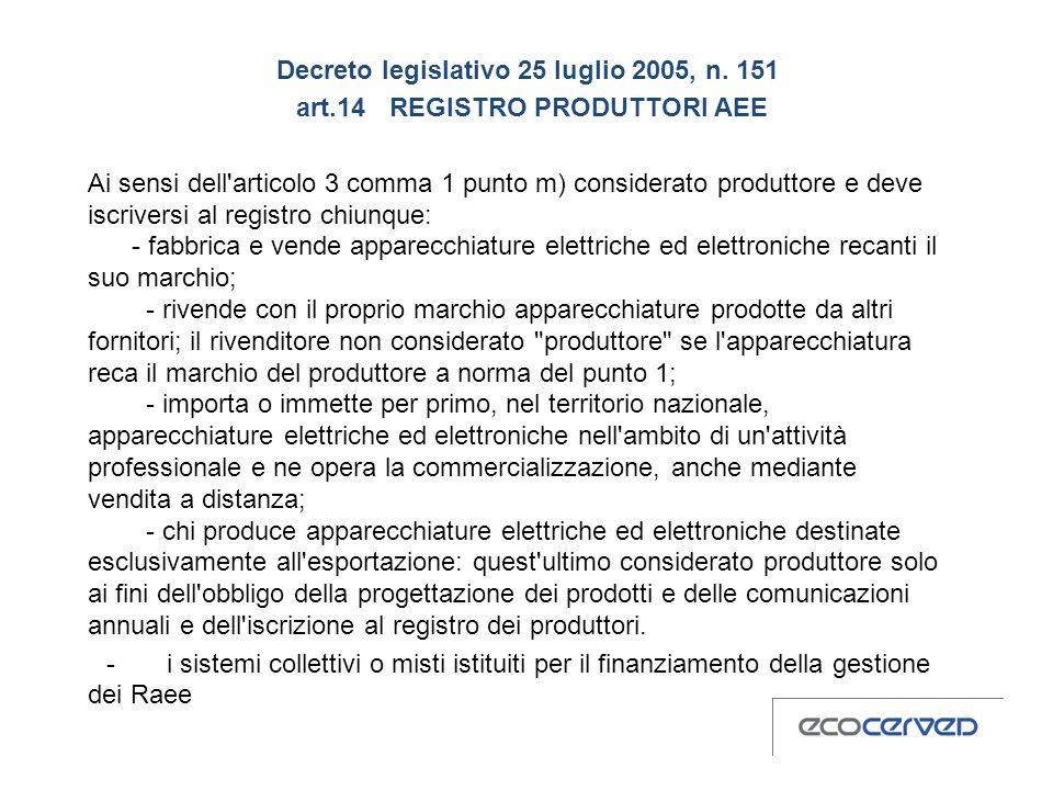 Decreto legislativo 25 luglio 2005, n.