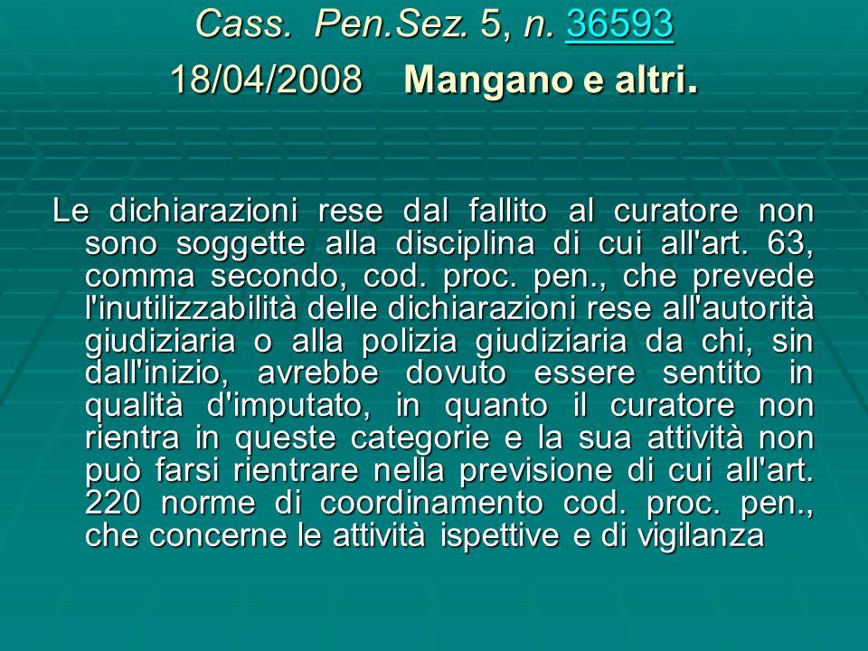 Cass. Pen,Sez. 5 n. 39001 09/06/2004, Canavini 39001 In tema di prova documentale (art. 234 cod. proc. pen.), le relazioni e gli inventari redatti dal