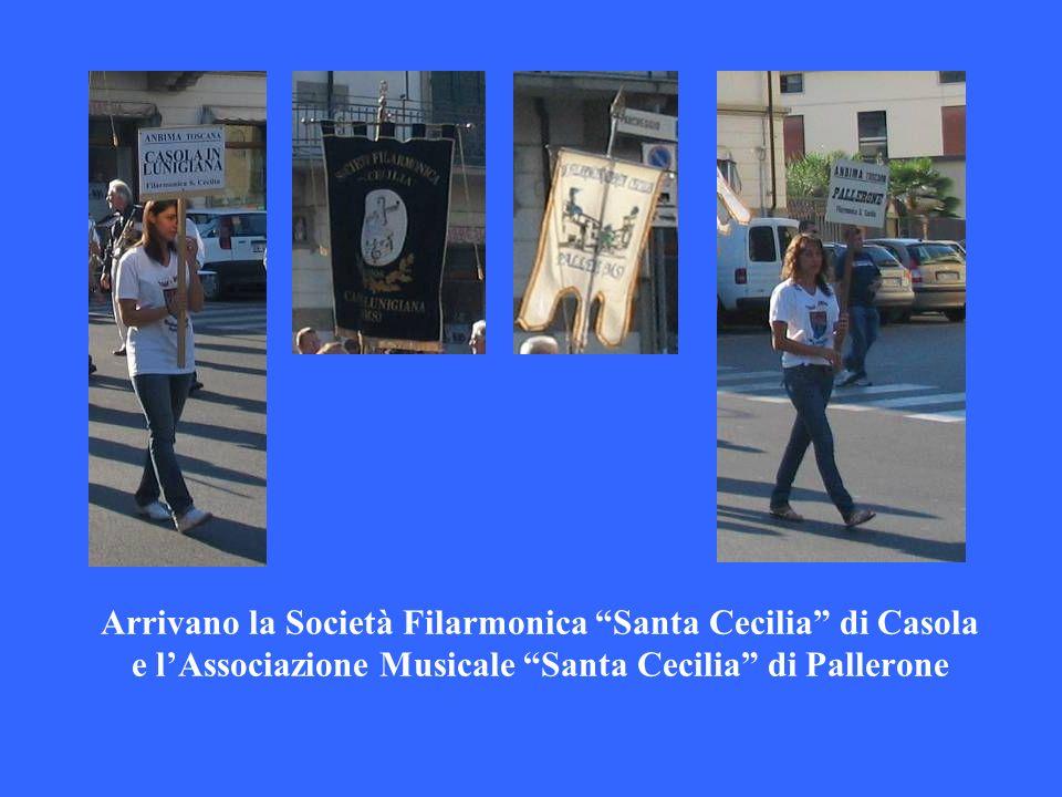 Arrivano la Società Filarmonica Santa Cecilia di Casola e lAssociazione Musicale Santa Cecilia di Pallerone
