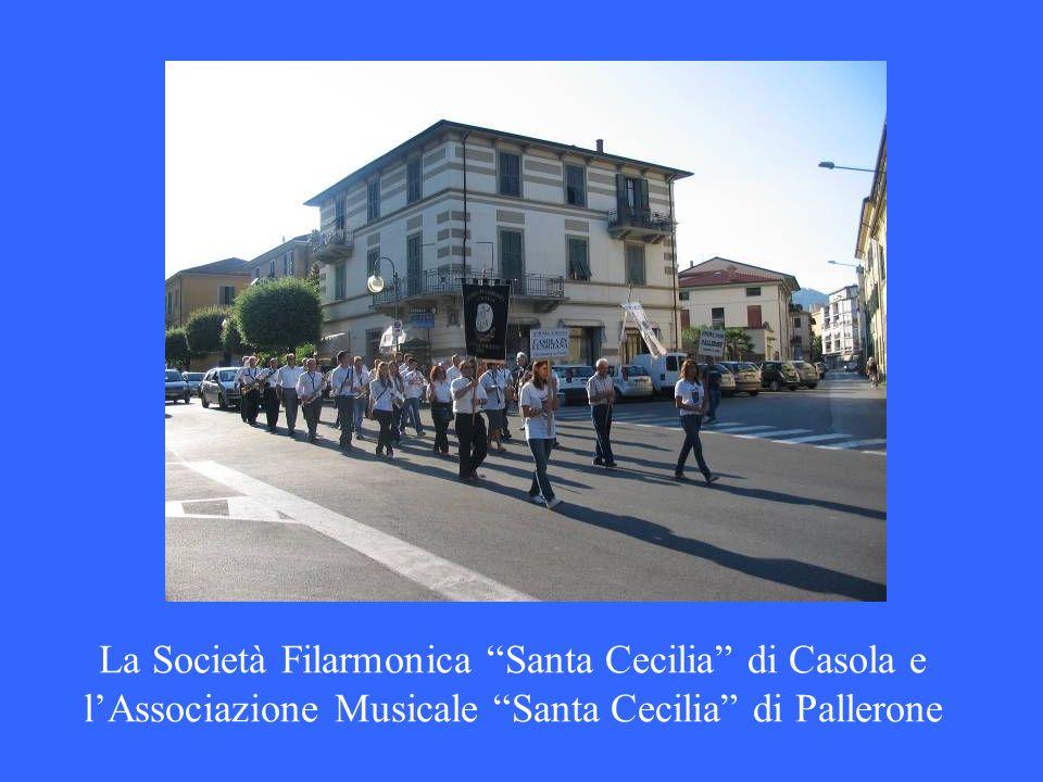 La Società Filarmonica Santa Cecilia di Casola e lAssociazione Musicale Santa Cecilia di Pallerone