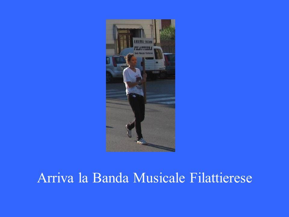 Arriva la Banda Musicale Filattierese