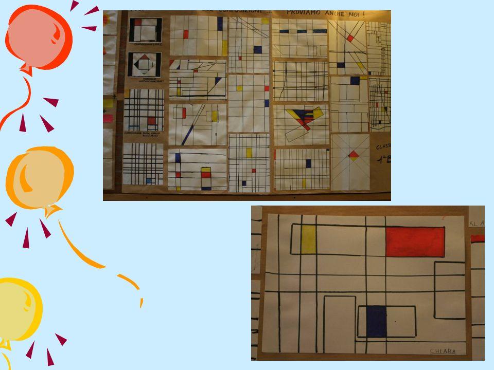 Partendo dalla classificazione dei colori, attraverso luso dei colori primari e la scoperta dei secondari, i bambini hanno sperimentato mescolanze e combinazioni e creato composizioni.