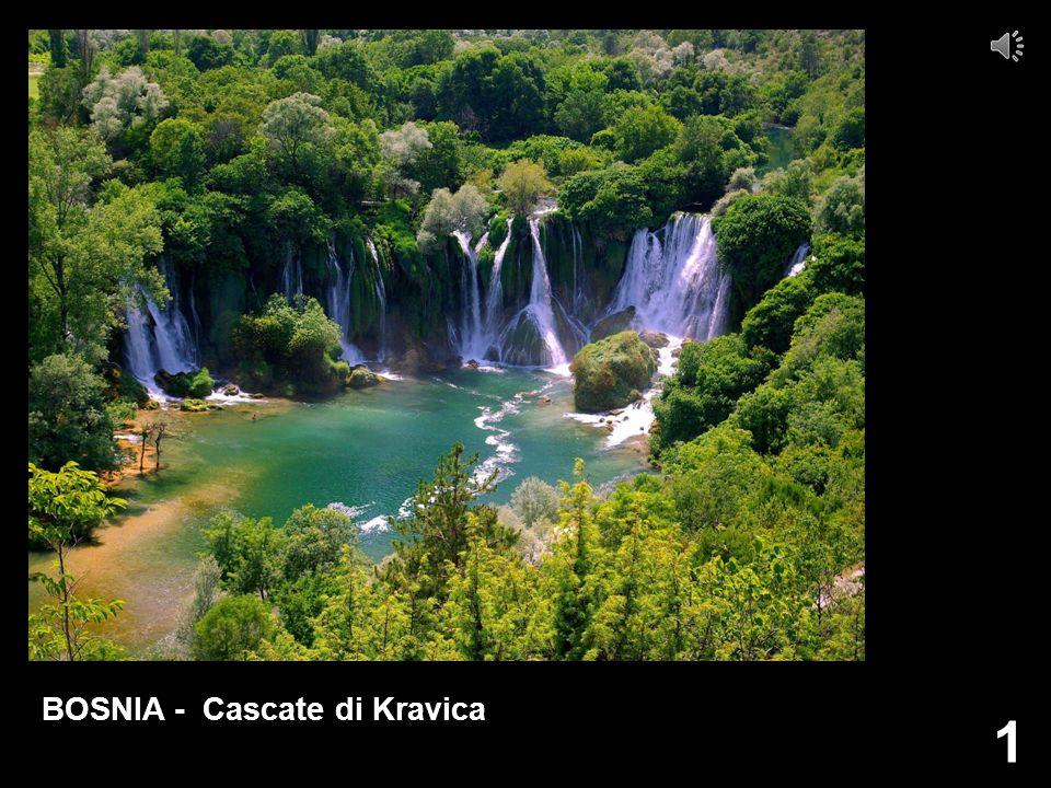 1 BOSNIA - Cascate di Kravica