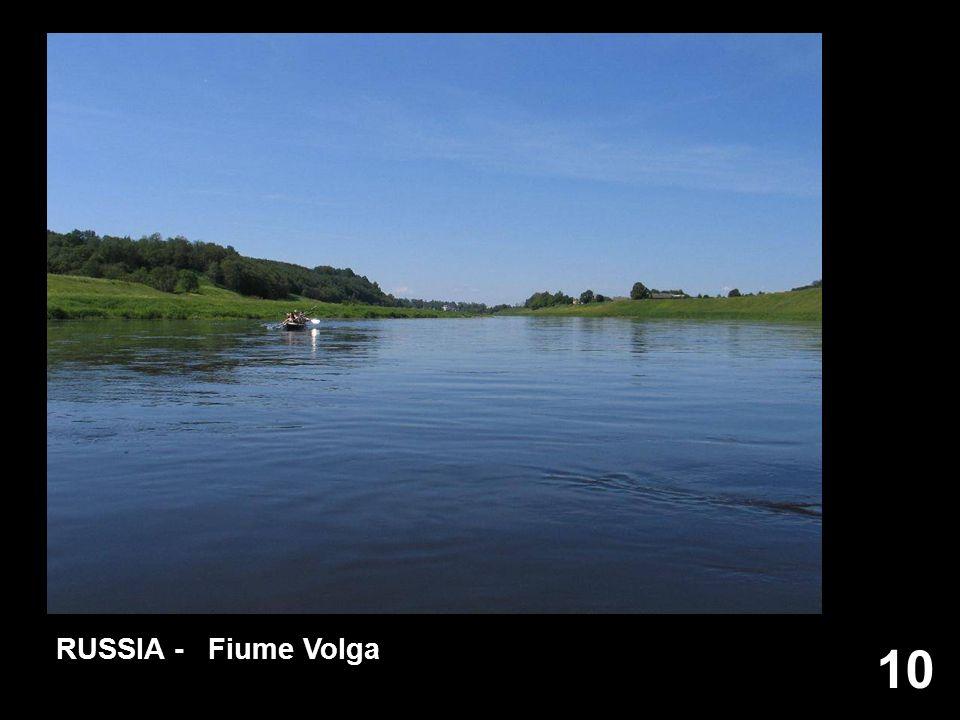 10 RUSSIA - Fiume Volga