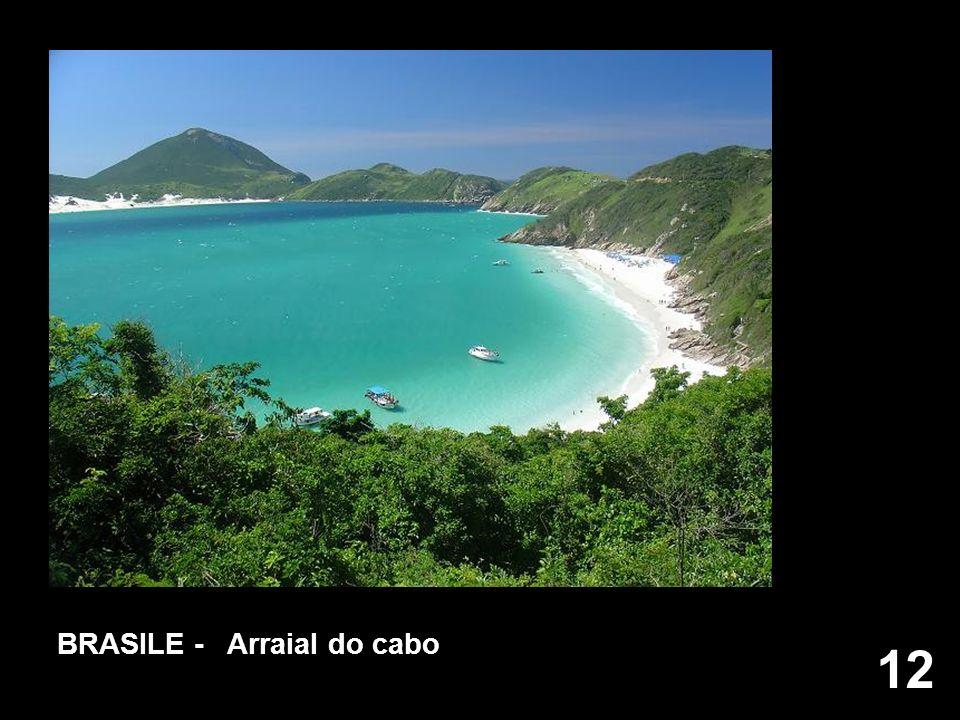 12 BRASILE - Arraial do cabo