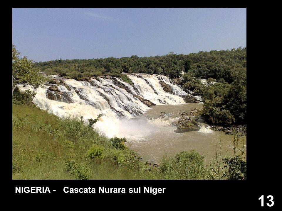13 NIGERIA - Cascata Nurara sul Niger