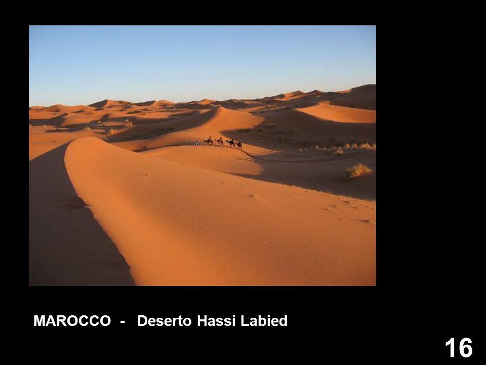 16 MAROCCO - Deserto Hassi Labied