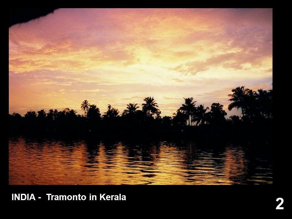 2 INDIA - Tramonto in Kerala
