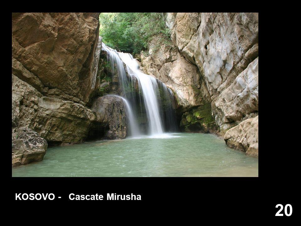 20 KOSOVO - Cascate Mirusha