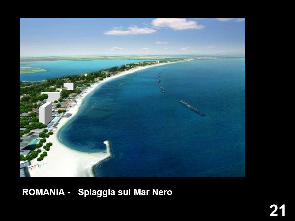 21 ROMANIA - Spiaggia sul Mar Nero