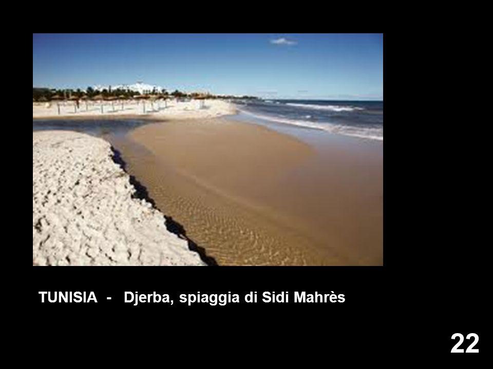 22 TUNISIA - Djerba, spiaggia di Sidi Mahrès