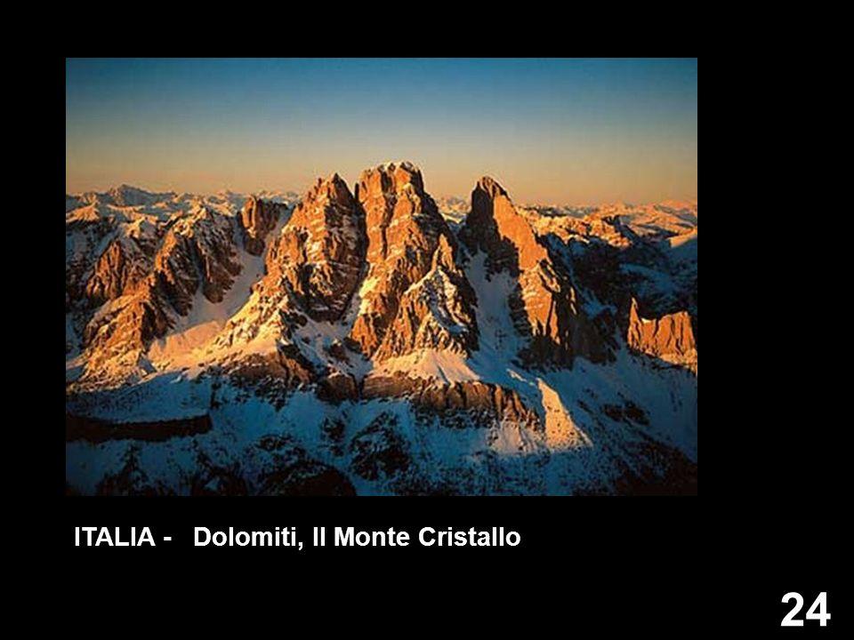 24 ITALIA - Dolomiti, Il Monte Cristallo