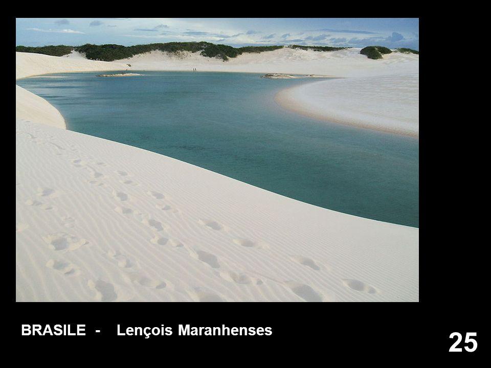 25 BRASILE - Lençois Maranhenses