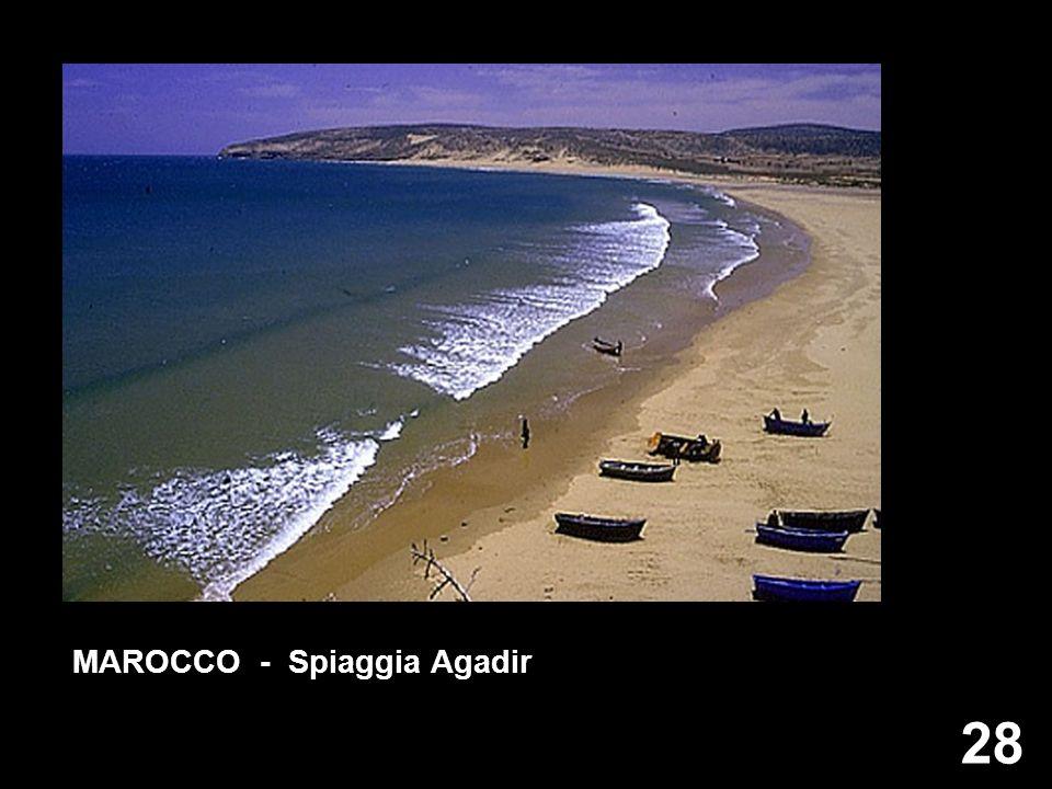 28 MAROCCO - Spiaggia Agadir
