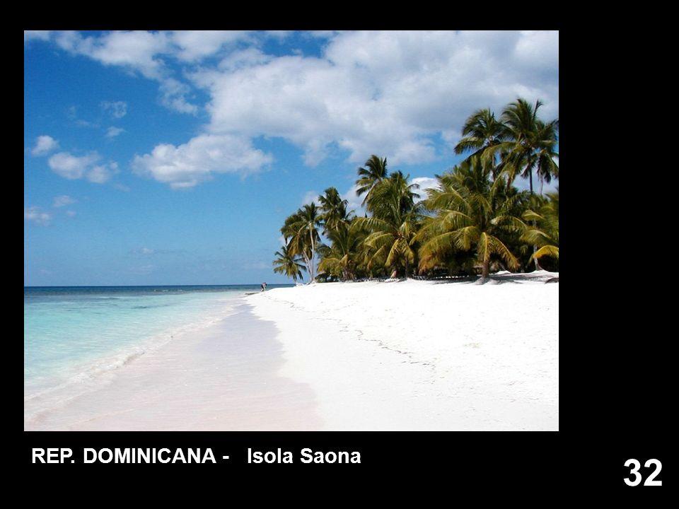 32 REP. DOMINICANA - Isola Saona