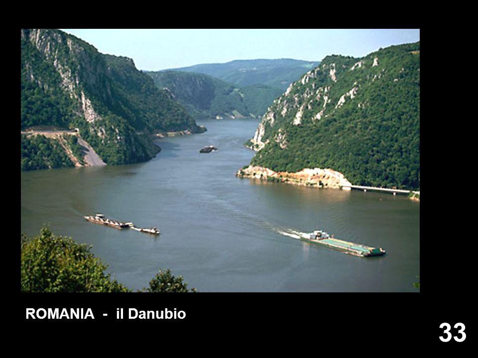33 ROMANIA - il Danubio