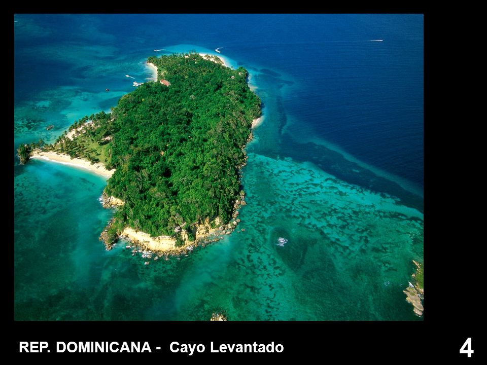 15 REP. DOMINICANA - Isola di Cayo Levantado
