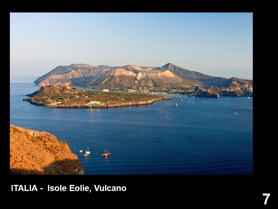 7 ITALIA - Isole Eolie, Vulcano