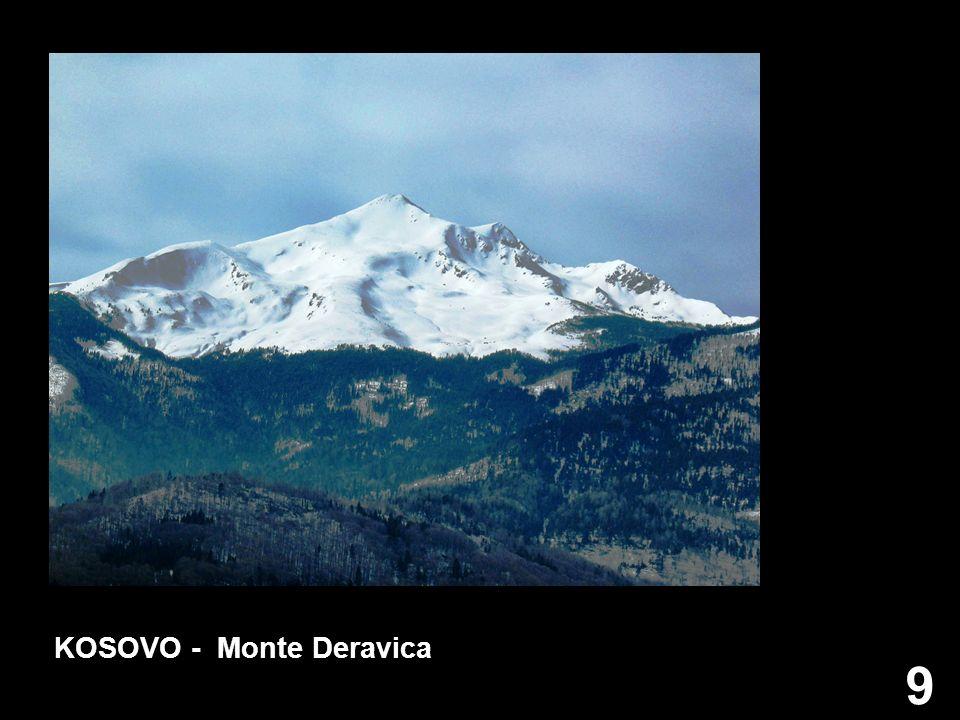 9 KOSOVO - Monte Deravica