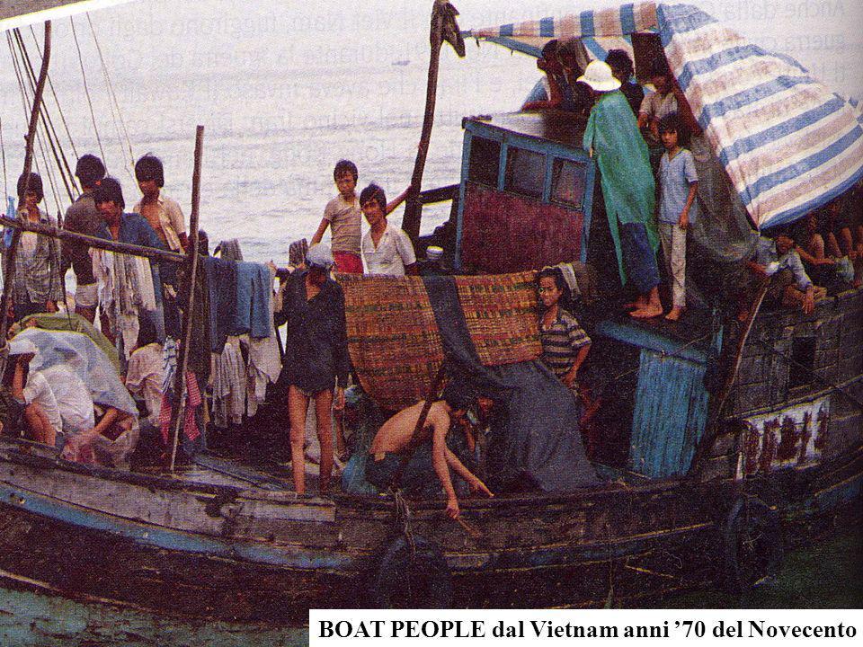 BOAT PEOPLE dal Vietnam anni 70 del Novecento