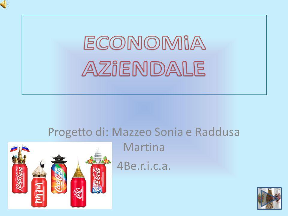 Progetto di: Mazzeo Sonia e Raddusa Martina 4Be.r.i.c.a.