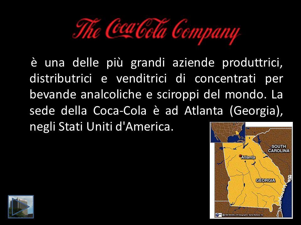 è una delle più grandi aziende produttrici, distributrici e venditrici di concentrati per bevande analcoliche e sciroppi del mondo. La sede della Coca