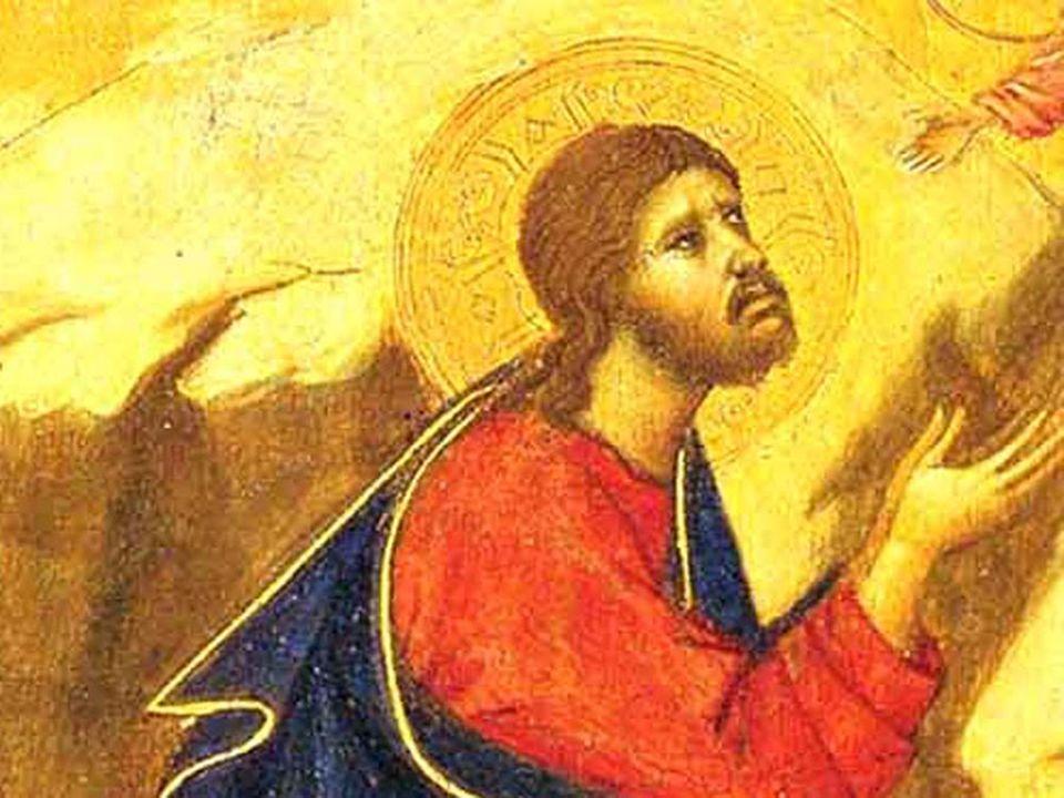 Le parole di Gesù ai tre discepoli che vuole vicini durante la preghiera al Getsemani, rivelano come Egli provi paura e angoscia in quell'«Ora», speri