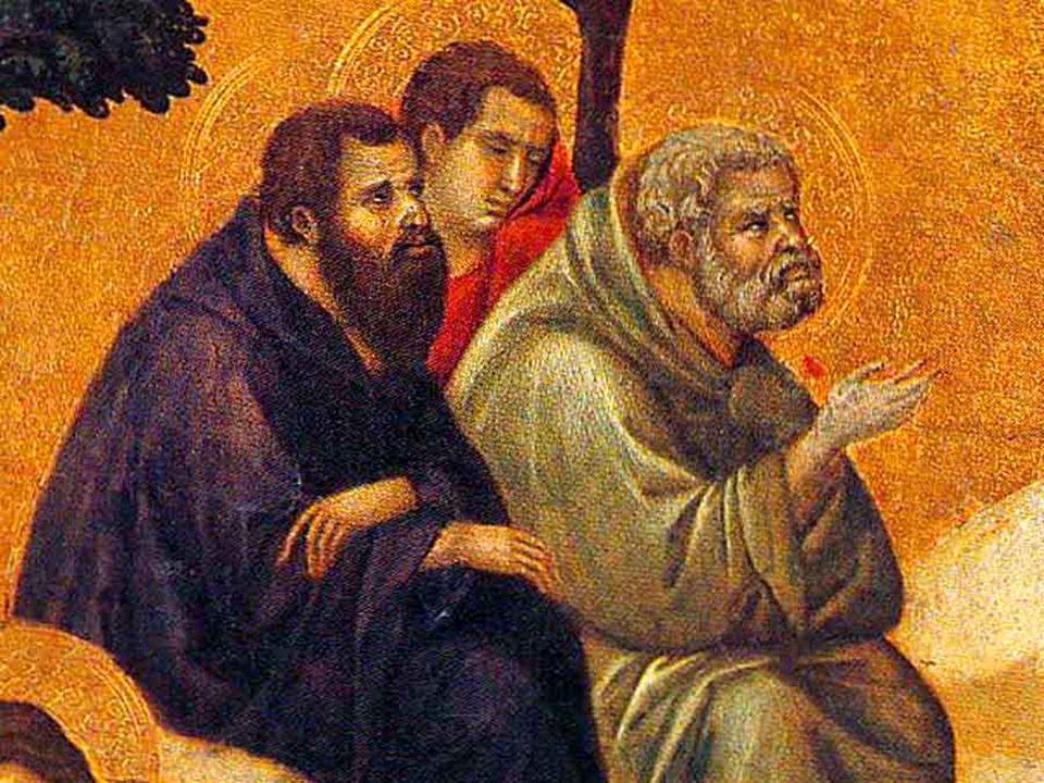 Poi Gesù chiede al Padre che, se fosse possibile, passasse via da lui questora. Non è solo la paura e langoscia delluomo davanti alla morte, ma è lo s