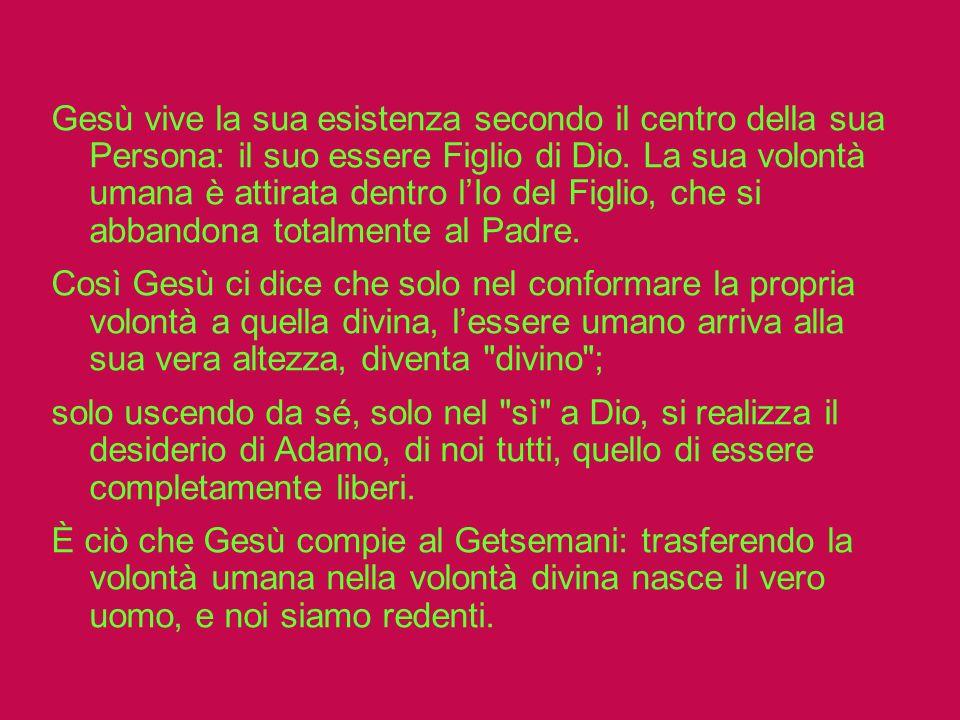 San Massimo il Confessore afferma che dal momento della creazione delluomo e della donna, la volontà umana è orientata a quella divina ed è proprio ne